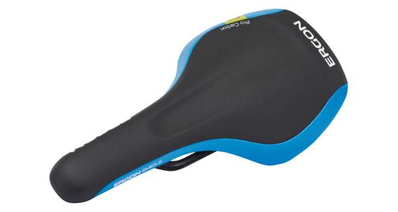 Ergon SME3 Pro Sattel Carbon schwarz/blau